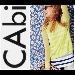 CAbi split back Sweater